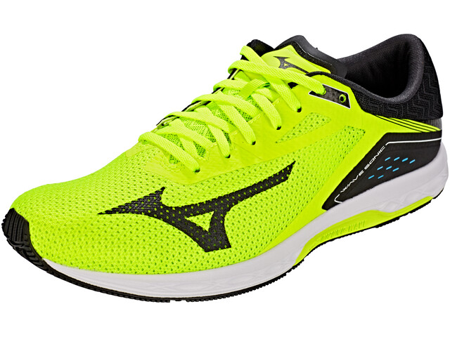 Mizuno Wave Sonic Running Shoes Men safety yellow/black/white